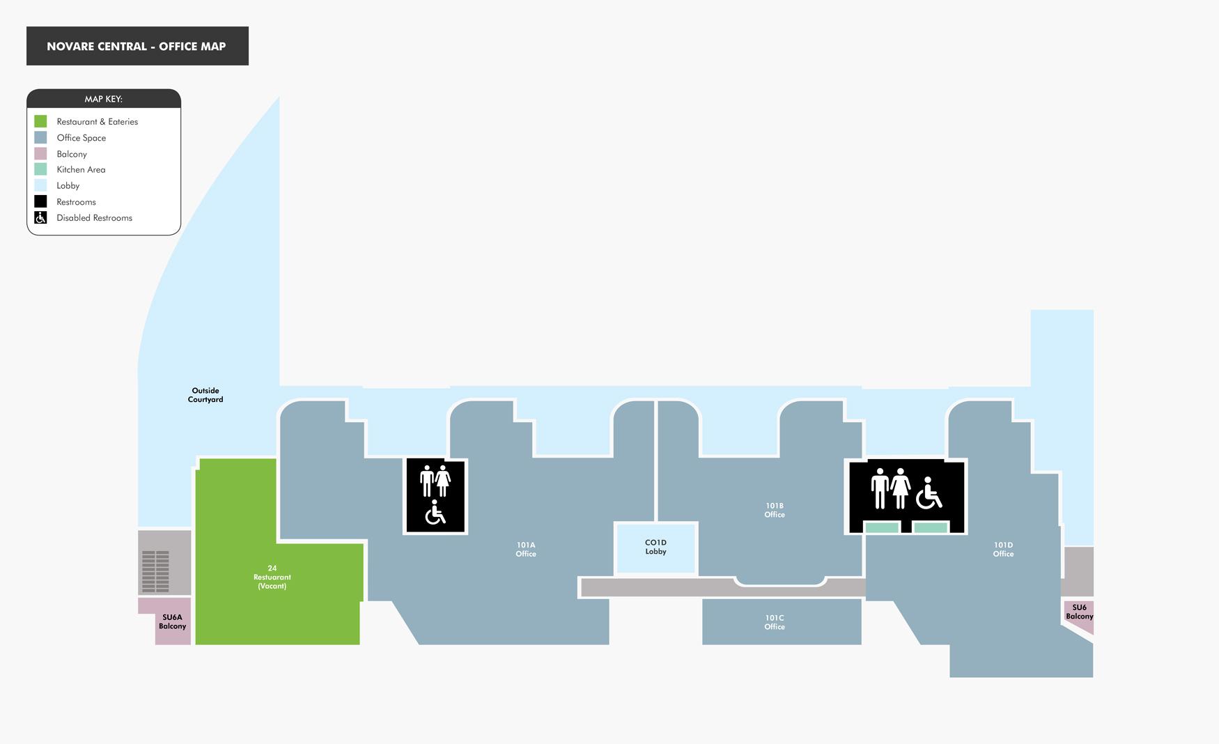 Shopping Mall map